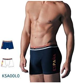 Abanderado - Pack x2 Calzoncillos Hombre Boxers Slips ESPAÑA La Roja - Marino, 48/M: Amazon.es: Ropa y accesorios