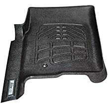 Wade 72-110011 Black Sure-Fit Front Right And Left Molded Floor Mat Set - 1 Pair