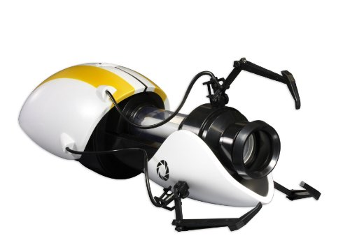 Valve Portal Device Replica - P-body Co-Op Version (White/Yellow) (Body P Gun Portal)