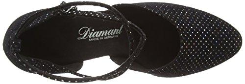 Monivärinen Musta 058 Naisten Tanssisali Tanssikengät 155 Diamond Hyvät musta 080 Tanssikengät OwxZv