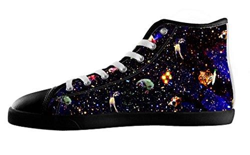 Mens Cats Galaxy Canvas Hoge Schoenen Cats Galaxy Canvas Shoes18