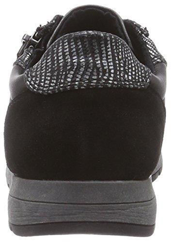 098 Sneaker 23701 Donna schwarz Jana Nero black Comb SZFqP0wx