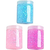 ROYALS Soft Slime Toy for Kids Glitter - Pack of 3