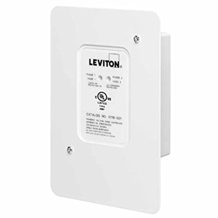 leviton 51110 1 120 240 volt panel protector 4 mode protection rh amazon com Leviton GFCI Wiring Leviton GFCI Wiring