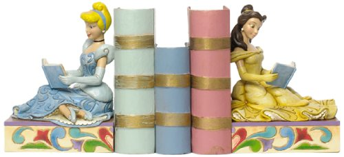 Jim Shore for Enesco Disney Traditions Disney Princess Bookends Bookend 7-Inch