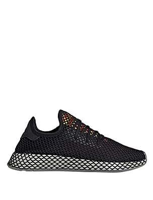 adidas Originals Women's Deerupt Runner Sneakers Black 5.5 US