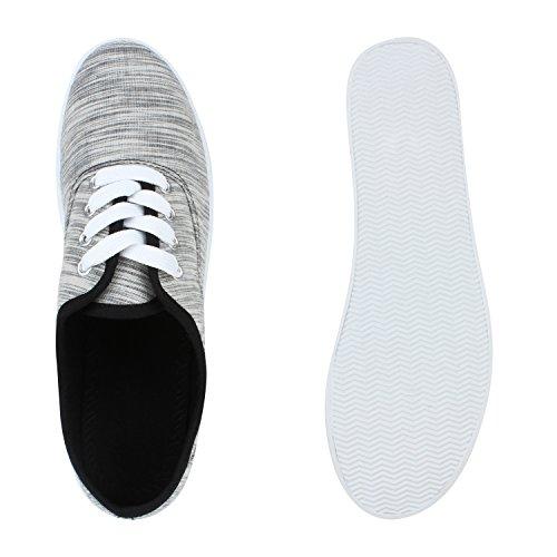 Schwarz Flandell Damen Stiefelparadies Low Herren Übergrößen Sneaker Amares Unisex 0wqOwY