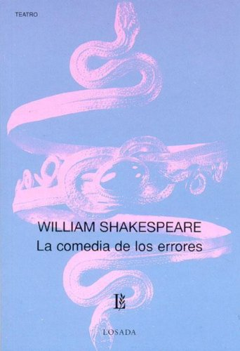 Descargar Libro La Comedia De Los Errores / The Comedy Of Errors William Shakespeare