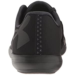 Under Armour Women's Street Precision Low, Black/Black/Black, 9 B(M) US