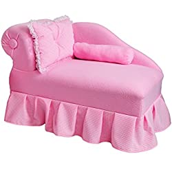 KEET Princess Kid's Chaise, Pink