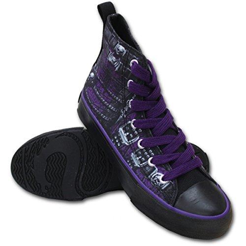 donna Spiral nero Sneaker Black Spiral Sneaker OFxU11