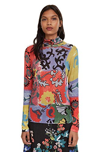 Desigual Women's Pullover Oshawa, Tutti Fruti, EU S