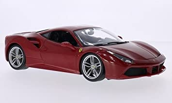 ferrari 2015 models. ferrari 488 gtb red 2015 model car readymade bburago 1 18 models r