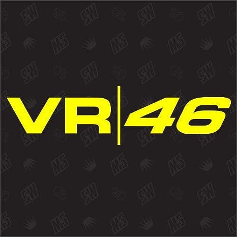 Speedwerk Motorwear Vr 46 Rossi Sticker Moto Gp Auto