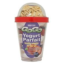 Range Kleen Go Go G6901Y1 BPA Free Yogurt Parfait Container, 13-Ounce
