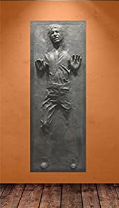 Amazon.com: Han Solo in Carbonite Star Wars Life-Size Poster (29 ...