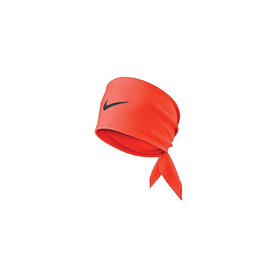 Nike Tennis Swoosh Bandana Hyper Crimson/Seaweed 411317 853