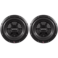 Pair Of (2) Rockford Fosgate R2SD2-10 10 800 watt Prime R2 Dual 2 Ohm Voice Coil Shallow Subwoofers