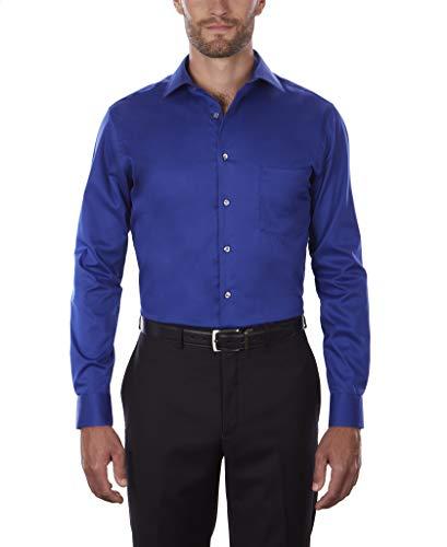 Van Heusen Men's Dress Shirt Flex Regular Fit Solid 2