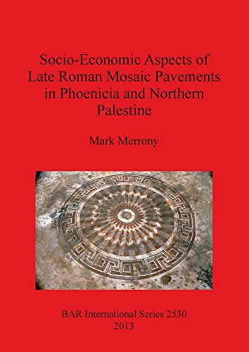 Socio-Economic Aspects of Late Roman Mosaic Pavements in Phoeniciaand Northern Palestine (BAR International Series) by British Archaeological Reports