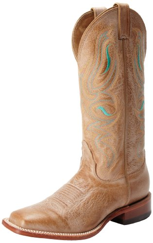 Nocona Boots Women's Honey Cowhide Boot - Honey - 8 B(M) US