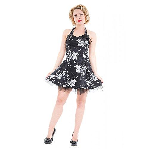 Hearts & Roses -  Vestito  - Donna Nero  nero
