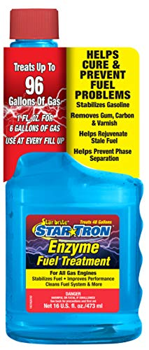 Star brite 14316 Star Tron Enzyme Fuel Treatment - Classic Gas Formula 143-16 Oz. Treats 96 Gallon,