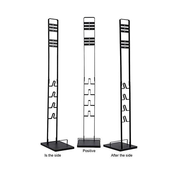 Xingsiyue Cordless Aspirapolvere Supporto di Freestanding per Dyson V11,V10,V8,V7,V6,DC58,DC59,DC30,DC31,DC34,DC35,DC58,DC62,DC74 -Non forare Il Muro(Nero) 5 spesavip