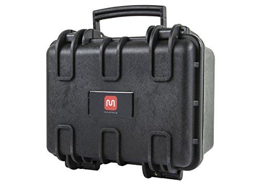 "Weatherproof Hard Case with Customizable Foam, 12"" x 10"" x 8"