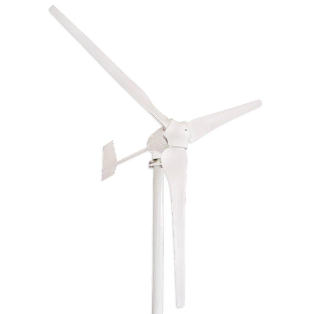 Tumo Int 1000w 3blades Wind Turbine Generator Kit Dumpload Charge Controller Boosting Dump Load 48v Garden Outdoor