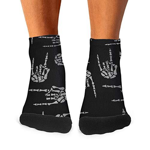 Design Heavy Metal skull hand Fashion Men's Sporty Ventilation Socks