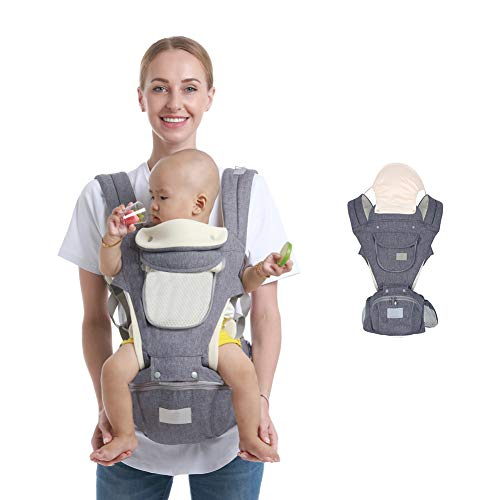 For Sale! Ergonomic Baby Hip Seat Carrier Baby Waist Stool for Newborn Child Infant Toddler with Coo...