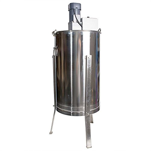 Hardin Royal 3 Electric Three Frame Stainless Steel Honey Extractor by SECCO Royal 3 Motorized