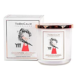 To Be Calm Singapore Journey Medium Soy Candle