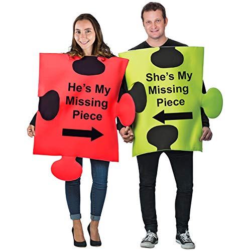 Cradle Robber Couple Costumes - Tigerdoe Puzzle Piece Costume - Halloween