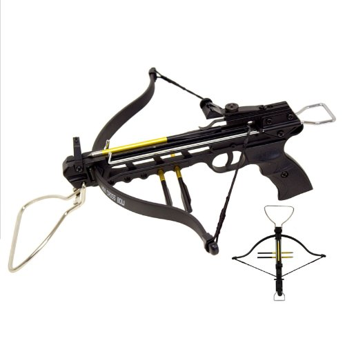 Rogue-80-lbs-Aluminum-Pistol-Crossbow-with-Build-in-Arrow-Holder