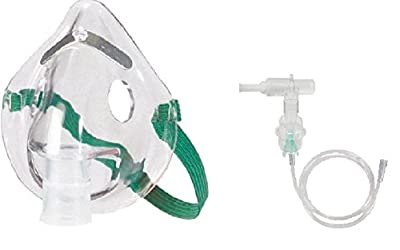 Adult Oxygen Aerosol Mask with Tubing Kit