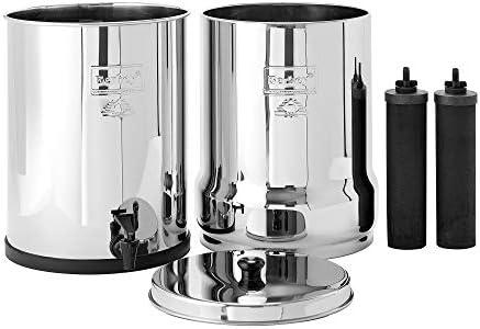 Imperial Berkey Filtro de agua con 2 elementos de purificadores ...