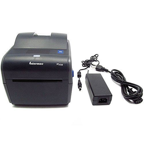 Intermec PC43D Monochrome Desktop Direct Thermal Printer with Icon-graphics Display and Americas Power Cord, 8 in/s Print Speed, 203 dpi Resolution, 4.10