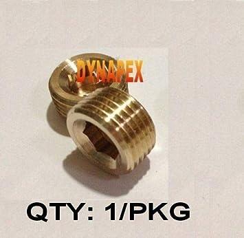 Metric Plug M14 M14X1 M14X1.0 Thread Allen Socket Head Brass  KW