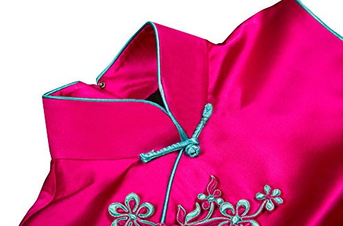 Qualità Cheongsam Su Abiti 104 Qipao Alta Eleganti Seta Abiti Misura Donna wRtBxrw