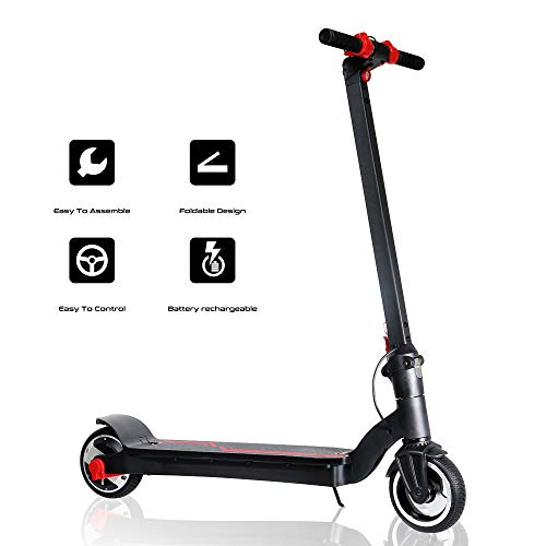 8'' Tires 250W Electric Scooter Easily Portable Folding Design Commuting Scooter Automatic Cruise Control for Outdoor and Traveling