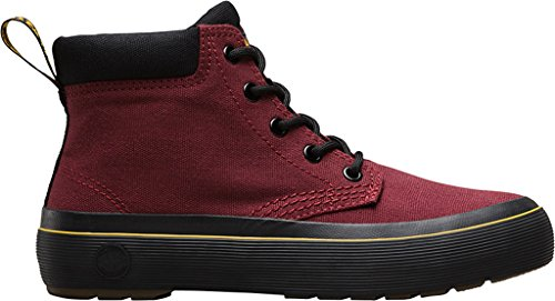 Canvas Boot Martens Women's Red Dr Allana Black Chukka Cherry gf8qIq