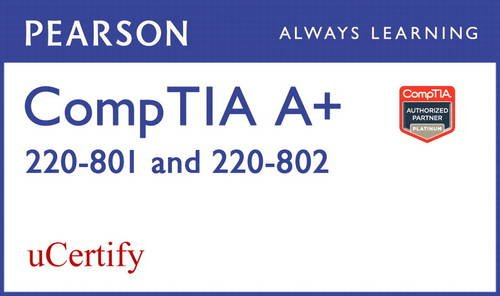 CompTIA A+ 220-801 and 220-802 uCertify Labs Student Access Card (Network Simulator)