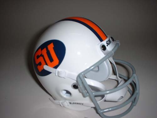 Schutt Syracuse Orangemen 1976 Throwback Mini Helmet