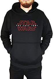 Moletom Unissex Canguru Star Wars The Last Jedi Preto