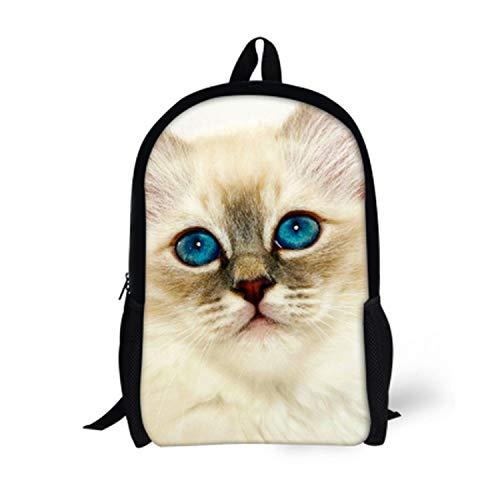 Cat Backpack Cute 3D Animal Denim Backpacks for Children Boys Girls Casual Kids School Bag Travel (Mossimo Kids Jeans)