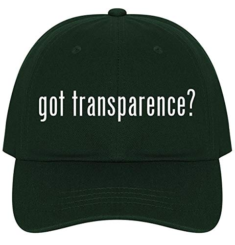 The Town Butler got Transparence? - A Nice Comfortable Adjustable Dad Hat Cap, Forest