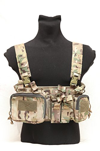 Tactical army military Russian MBC D3CR-H lightweight chest rig multicam by MBC