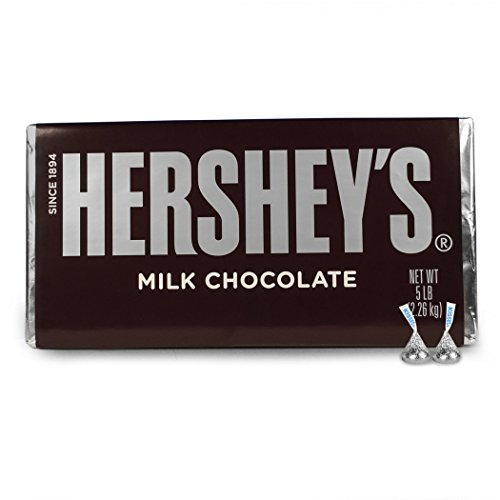 Hershey's 5 Pound Chocolate Bar 5lb bar